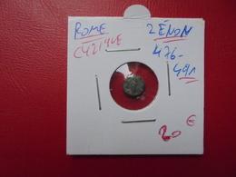 Empire Romain :Zénon (476-491) Bronze - 8. La Caduta Dell'Impero Romano (363 / 476)