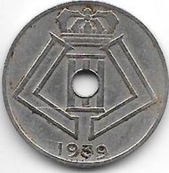 *belguim 10 Centimes 1939 Frenche    Xf  !!!!! - 1934-1945: Leopold III