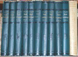 L 94 - RICORDI ENTOMOLOGICI - J. H. FABRE - 1° EDIZIONE - 11 VOLUMI - CASA EDITRICE SONZOGNO - Books, Magazines, Comics