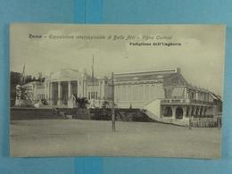 CPSM Roma Esposizione Internazionale Di Belle Arti Vigna Cartoni Padiglione Dell'Ungheria - Expositions