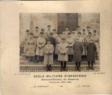79 - Saint Maixent -  Ecole Militaire D'Infanterie - Elèves Officiers De Reserve - Promotion 1924 - 1925 - Krieg, Militär