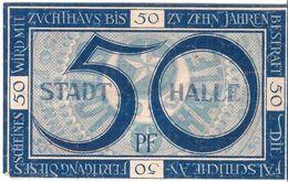 Deutschland Notgeld 50 Pfennig Tieste2740.35.15 HALLE /40M/ - [11] Local Banknote Issues