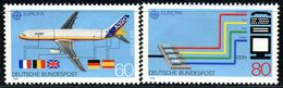 BRD - Michel 1367 / 1368 - ** Postfrisch (F) - 60-80Pf   CEPT 88 - Unused Stamps