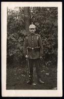 B0748 - Uniform Pickelhaube Gewehr Ausrüstung - Feldpost 1. WK WW - Truppenübungsplatz Zeithain 1916 - Weltkrieg 1914-18