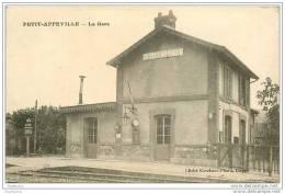 76.PETIT-APPEVILLE.LA GARE - France