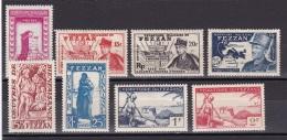 Fezzan N°44*,45*,47*,48*,54*,55*,57*,58* - Fezzan (1943-1951)