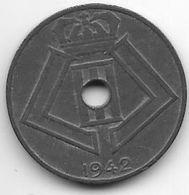 *belguim 10 Centimes 1942 French   Xf ++ !!!!! - 1934-1945: Leopold III