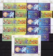 Blocks 2005 Bosna-Hercegovina 419/2,ER-VB,2ZD+Bl.27 ** 108€ Ölzweig Karte Flagge S/s Sheets Flags Se-tenant Bf CEPT - Stamps