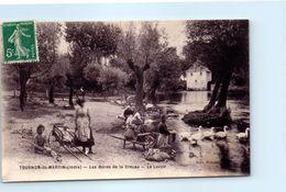 36 - TOURNON  SAINT MARTIN --  Les Bords De La Creuse - Le Lavoir - Autres Communes