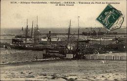 SENEGAL - DAKAR - Travaux Du Port D Commerce - Beau Cachet Octogonal Bordeaux à Buenos Ayres - Sénégal