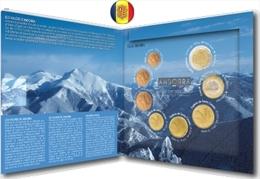 Le Coffret Officiel Numéroté Tirage BU Série De 8 Pièces EURO ANDORRA 2014 BU (Tirage 70000) - Andorra