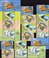 50 Jahre CEPT Makedonien 370/3,ER,4x ZD,VB+KB ** 198€ Mutter Teresa Stamps On Stamp Ss Bloc Sheetlet Bf EUROPA 2006 - Stamps