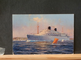 72/355  CP   P.B.  WILLE RUYS VERSO BLANCO - Schiffe