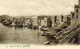 GRECE - Vue De SYRA. - Grèce