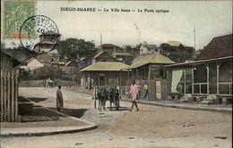 MADAGASCAR - DIEGO-SUAREZ - Antsiranana - Le Poste Optique - Madagascar
