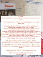 ALBANIE : Lot Composé D'un Livre En Deux Volumes-5 Brochures-4 Revues & 8 Numéros D'ATA - Books, Magazines, Comics