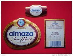 ETIQUETTE BIERE / ALMAZA / PURE MALT / LIBAN - Bier