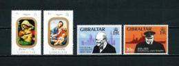 Gibraltar  Nº Yvert  312/3-314/5  En Nuevo - Gibraltar