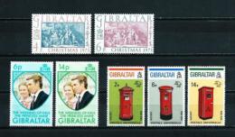 Gibraltar  Nº Yvert  301/2-303/4-305/7  En Nuevo - Gibraltar