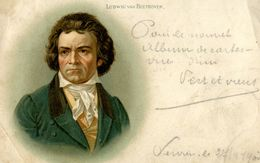 CPA - Carte Postale-  Ludwig Van Beethoven - 1917 - Belgique