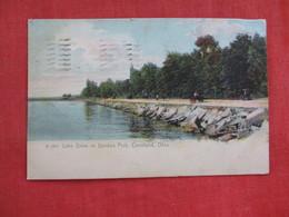 Rotograph  Lake Drive In Gordon Park   Ohio > Cleveland Ref 2816 - Cleveland
