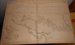 Plan Du Percement De L'Isthme Du Panama. 1859 - Public Works