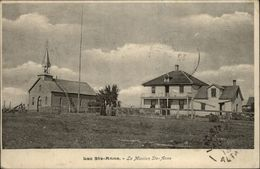 CANADA - QUEBEC - Lac Sainte-Anne - La Mission - Lettre Qui Accompagne La Carte - Quebec