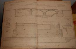 Plan Du Pont Saint-Michel à Paris En 1858. 1859 - Public Works