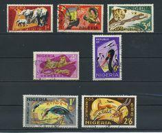 NIGERIA    1965    Various  Designs    Short  Set  Of  7    USED - Nigeria (1961-...)
