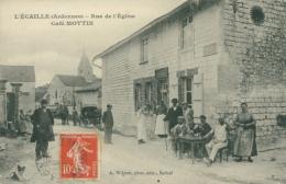 08 L' ECAILLE /  Rue De L'Eglise / Très Très Belle Carte Animée / - France