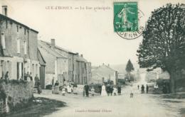 08 GUE D'HOSSUS /  La Rue Principale / Très Belle Carte Animée / - France