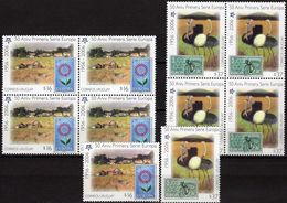 Dorf /Strauß 2005 Uruguay 2880/1+4-Blocks ** 35€ Stamps On Stamp Of Espana EUROPA Natur Sheets Ss 50 Year CEPT 2006 - Stamps