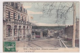 Nerac Route De Mezin Brasserie Laubenheimer Petite Animation 1908 - Nerac