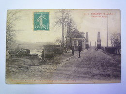 LUZANCY  (Seine-et-Marne)  :  Entrée Du PONT   - Autres Communes
