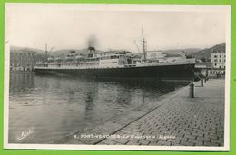 PORT-VENDRES - Le Courrier D'Algérie EL KANTARA Paquebot Liner - Steamers