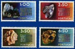 PORTUGAL, 1971, ECONOMIC GEOLOGY, CE#1109-12, MNH - Otros