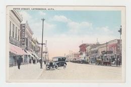 FIFTH STREET / LETHBRIDGE - ALBERTA (TRES BELLE AUTOMOBILE) - Alberta