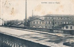 CASTRES - USINE SUR L'AGOUT - Castres