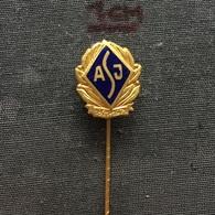 Badge (Pin) ZN006405 - Athletics Yugoslavia ASJ Federation / Association / Union (Atletski Savez Jugoslavije) - Athletics
