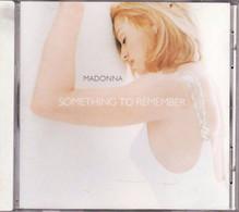 CD MADONNA Something To Remember  Etat: TTB Port 110 Gr Ou 30gr - Disco, Pop