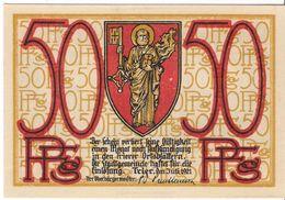 Deutschland Notgeld 50 Pfennig Tieste7455.10.40 TRIER /46M/ - [11] Local Banknote Issues