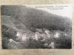63 - CPA LE MONT-DORE - Route De La Tour D'Auvergne Et Le Petit Bois (E.A. 14) - Le Mont Dore