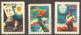 Iran 0810/812 ** MNH. 1954 - Iran