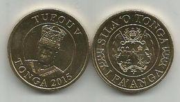 Tonga  1 Paanga  2015. UNC - Tonga
