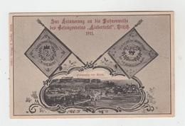 """57 - BITCHE - BITSCH / ZUR ERINNERUNG AN DIE FAHNENWEISE DES GESANGVEREINS """"LIEDERTASEL"""" 1911 - Bitche"""