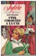 POCKET MARABOUT MADEMOISELLE    SYLVIE    CINQ COLONNES A LA UNE   René Philippe      N° 329 - Books, Magazines, Comics