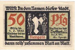 Deutschland Notgeld 50 Pfennig Mehl1338.1 TREFFURT /46M/ - [11] Local Banknote Issues