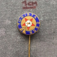 Badge (Pin) ZN006498 - Turista CSSR Czechoslovakia Tourism - Trademarks