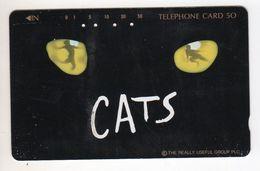 JAPON TELECARTE COMEDIE MUSICALE CATS - Culture