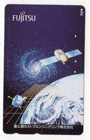 JAPON TELECARTE ESPACE SATELLITE - Astronomie